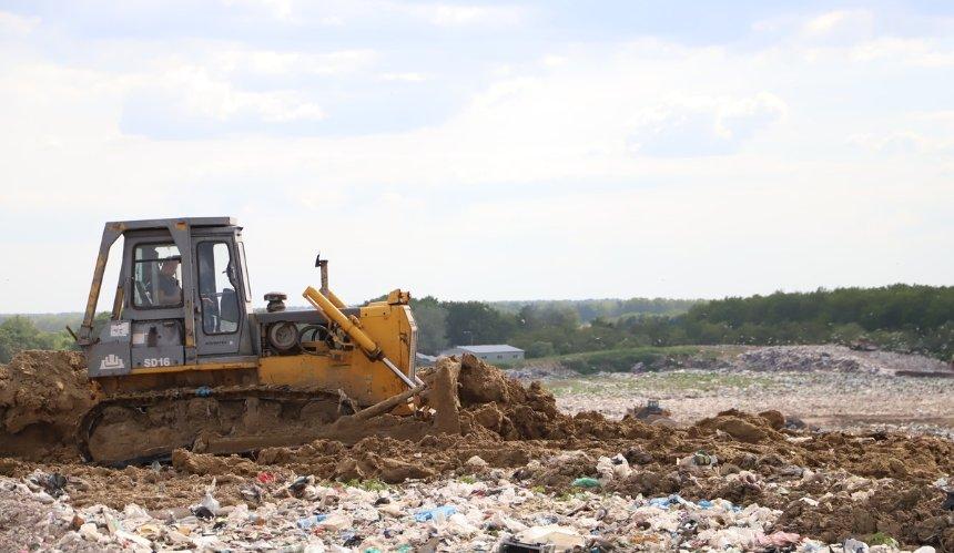 Киев начал первую вУкраине рекультивацию мусорного полигона