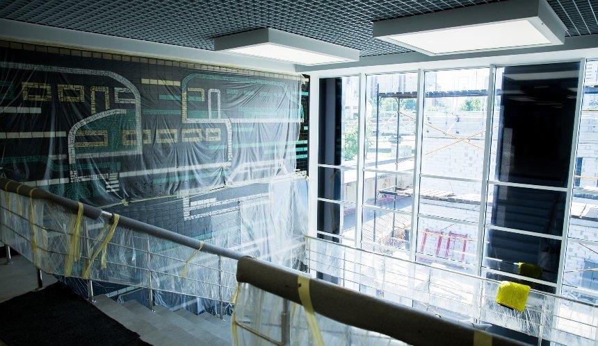 НаЦентральном автовокзале отреставрировали модернистскую мозаику