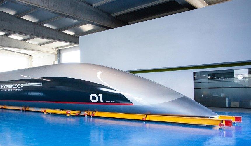 Архитектурное бюро Захи Хадид разрабатывает систему Hyperloop для Италии