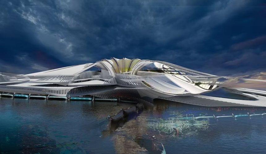В Индийском океане хотят построить остров-курорт из мусора
