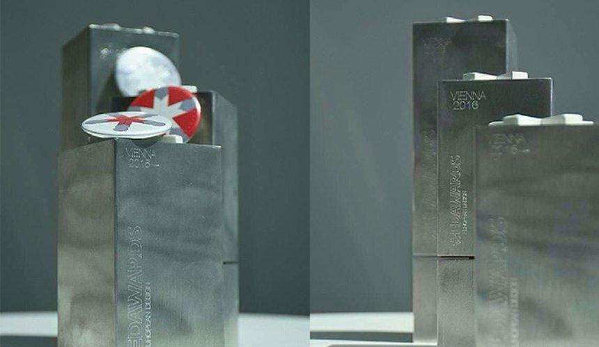 Украинские дизайн-студии получили премию European Design Awards