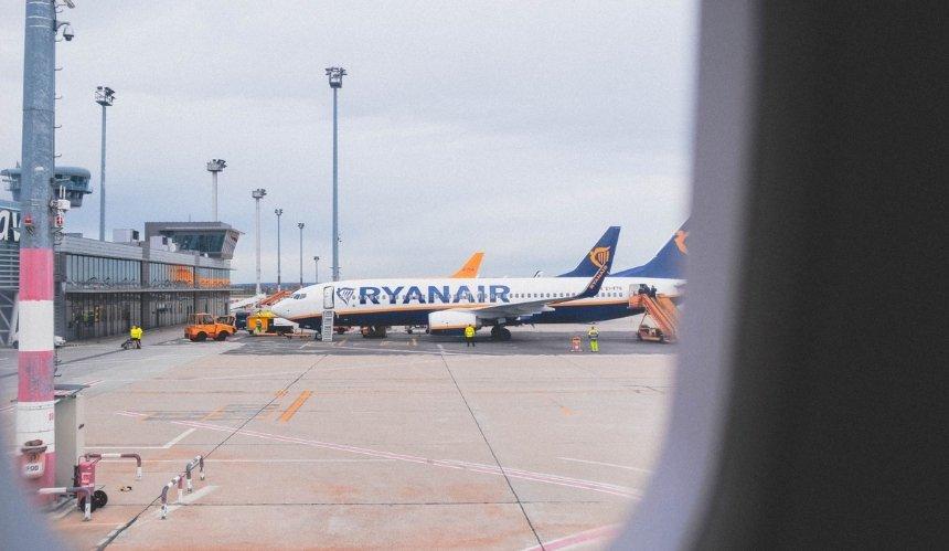 Ryanair открывает новое направление изКиева вИталию