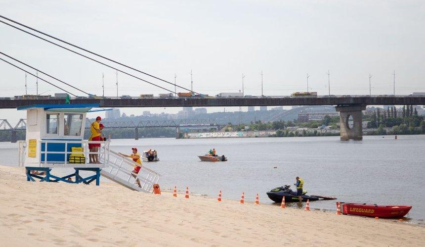 На нескольких пляжах Киева нашли кишечную палочку
