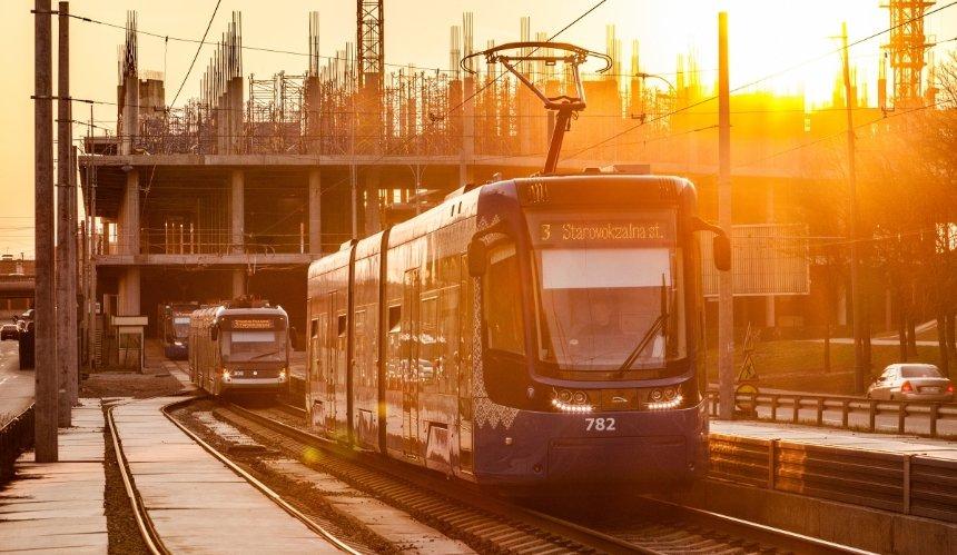 Между улицами Жилянской иСаксаганского построят 3,5км трамвайной линии
