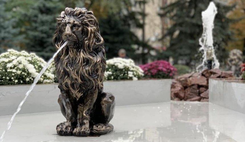 В Киеве нашли одного из украденных львов с Мюнхенского сквера