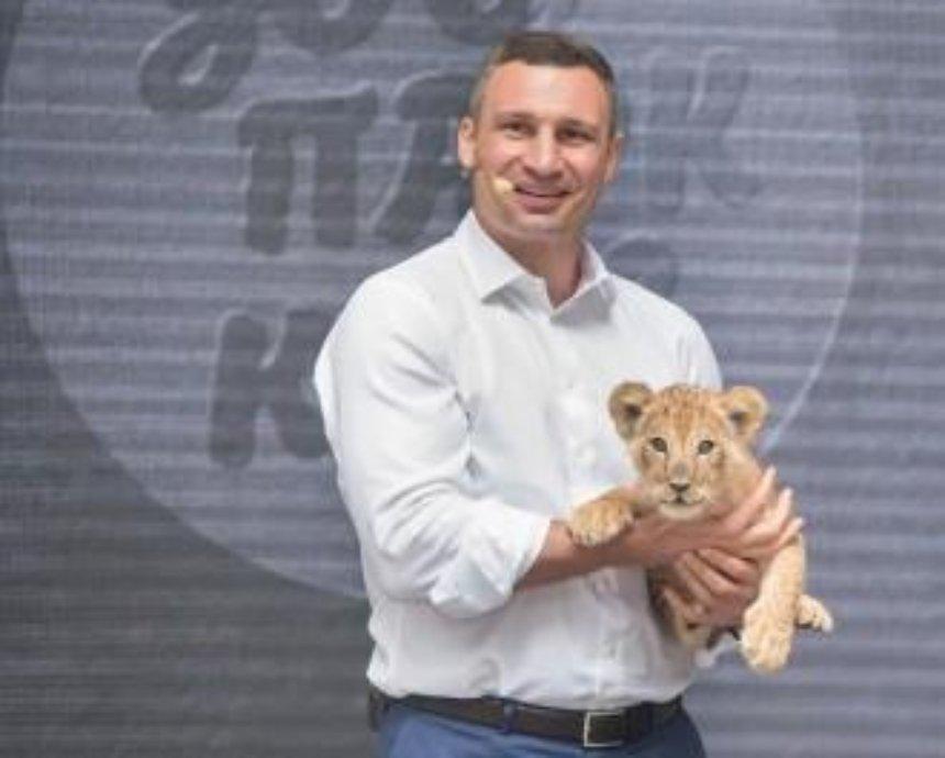 Кличко презентував концепцію оновлення Київського зоопарку