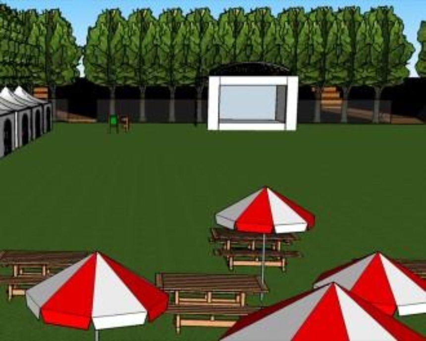 Интерактивный парк и коворкинг под открытым небом