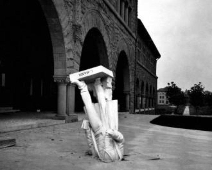 Во сколько обойдется уронить скульптуру на посетителя Мыстецькому арсеналу