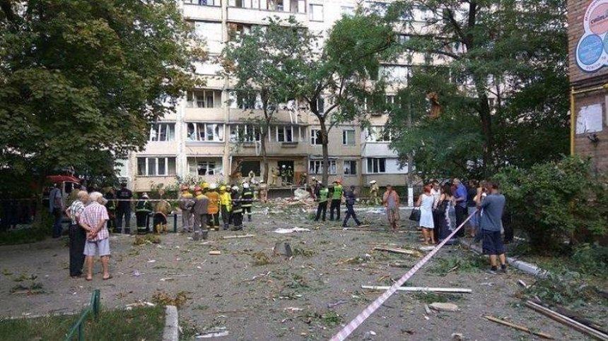 Вибух в Голосієво: 36 осіб відселено в тимчасове житло