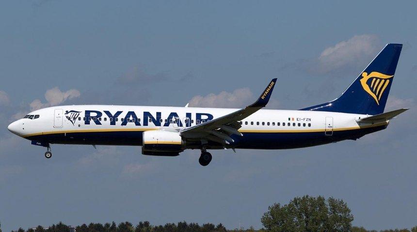 Ryanair остановил продажу билетов на рейсы из Украины