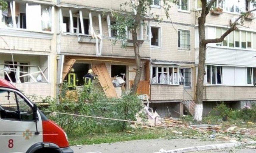 Взрыв в Голосеево: в доме восстановили свет и воду
