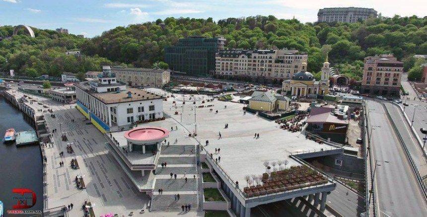Памятнику на Почтовой площади предоставят статус национального