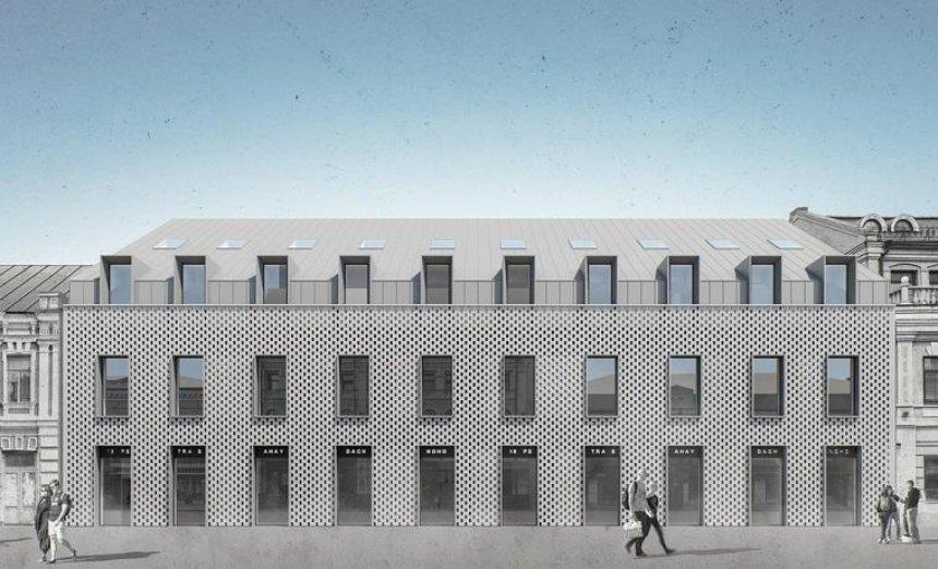 Архитекторы Театра на Подоле показали проект офисно-ресторанного комплекса на Сагайдачного (фото)
