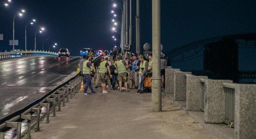 На Гаванському мосту знімали кіно з Зеленським (фото, відео)