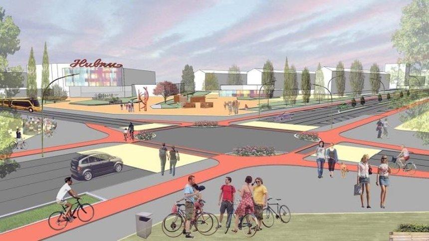 Стало известно, как будет выглядеть улица на Нивках после реконструкции (фото)