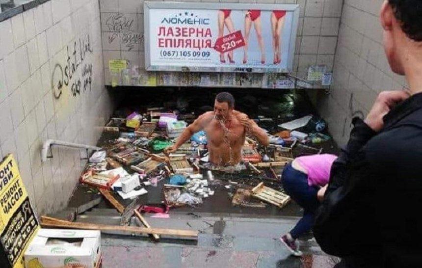 Кличко прокоментував повінь в столиці (відео)
