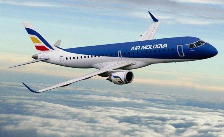 Air Moldova возобновляет рейсы в Кишинев