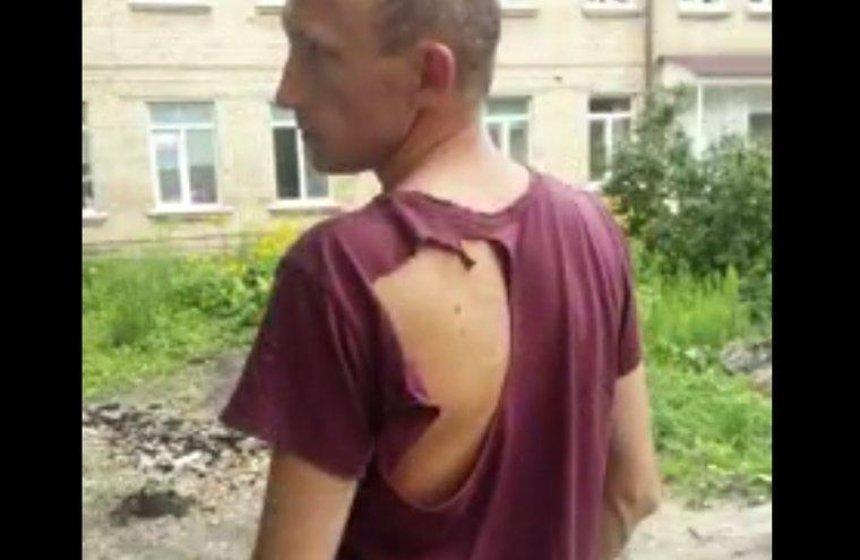 В Вишневом маршрутчики избили пассажира-полицейского (видео)