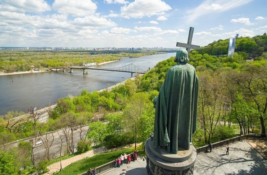 Кличко рассказал, когда построят пешеходный мост на Владимирской горке