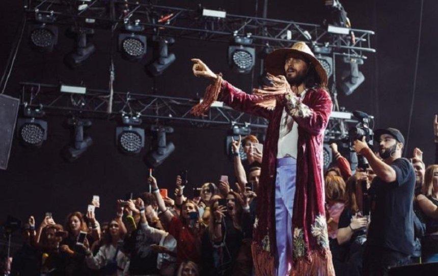 Джаред Лето в Киеве провел квест для своих фанатов