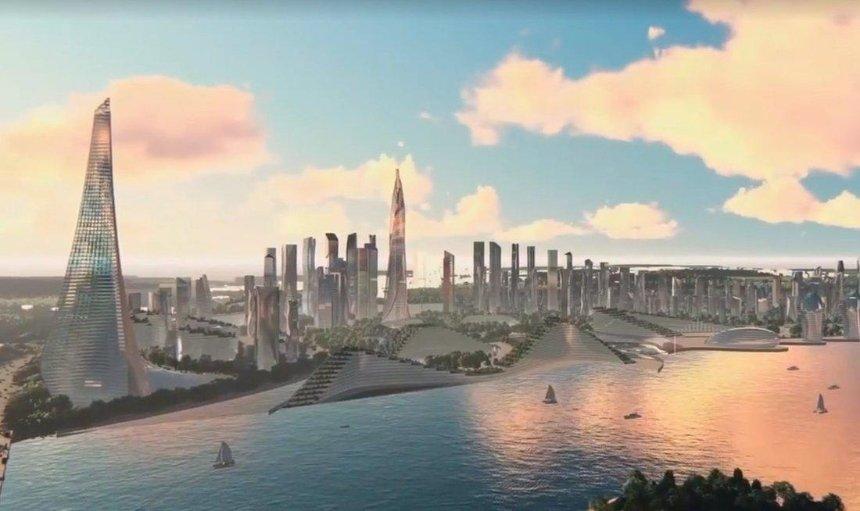 Киевский девелопер Мхитарян представил концепцию «Киев-Сити» – района вместо промзоны на Теличке