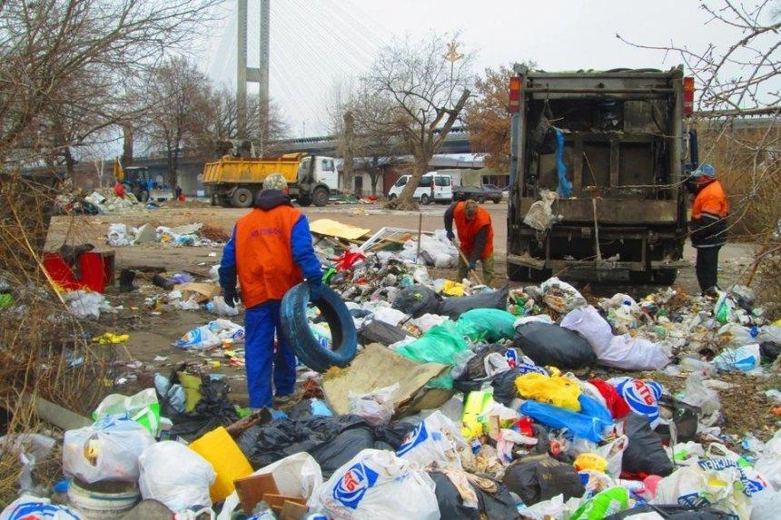 В КГГА намерены ликвидировать все стихийные свалки в Киеве