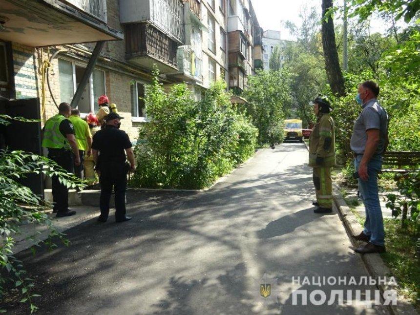 Киевлянин «заминировал» школу и пытался взорвать свой дом