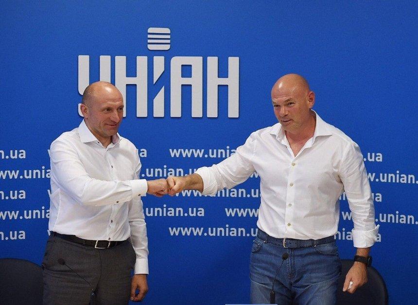Мэр Черкасс присоединился к партии «За майбутнє» Игоря Палицы