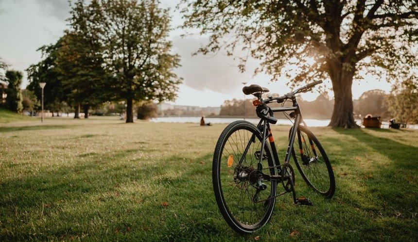В парке «Отрадный» установили велопарковки. Но они неправильные