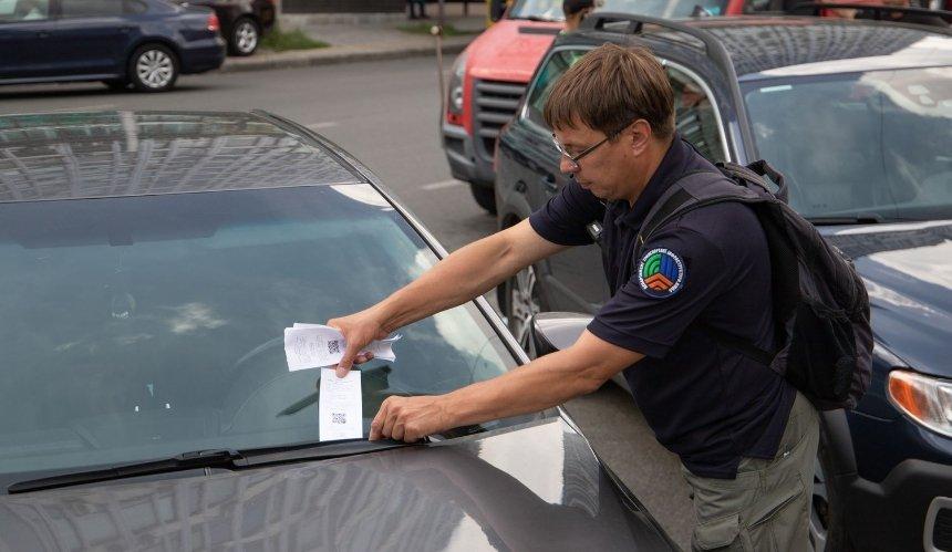 Киевских водителей пока не будут штрафовать за неоплаченную парковку