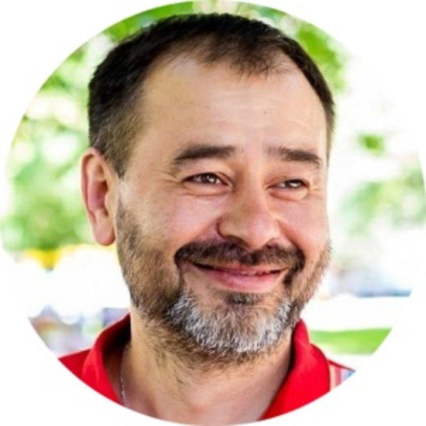 Юрій Ліфансе, голова Спільноти Світого Егідія в Україні