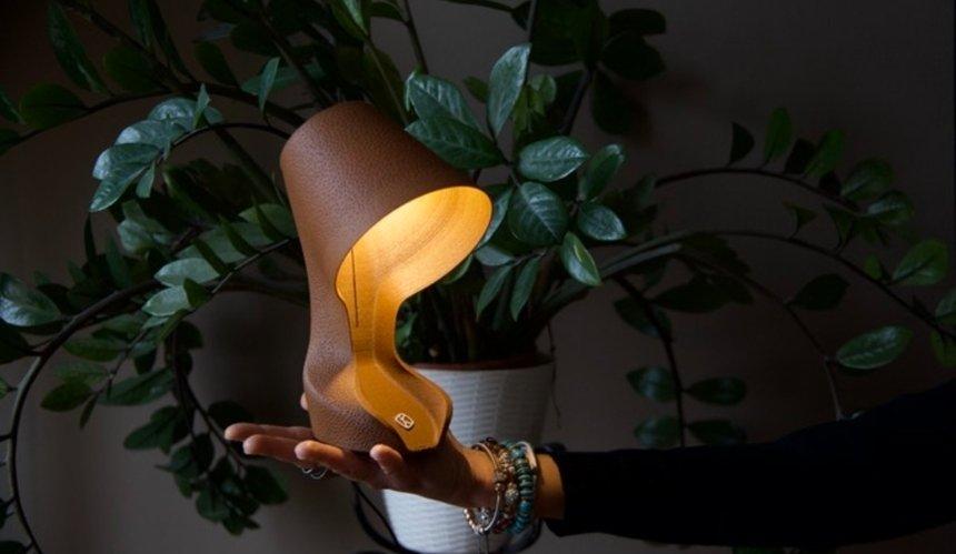 В Италии на 3D-принтере печатают лампы из апельсиновых корок