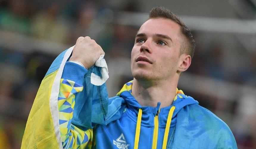 Украинского гимнаста Верняева дисквалифицировали из-за допинга: своей вины оннепризнает