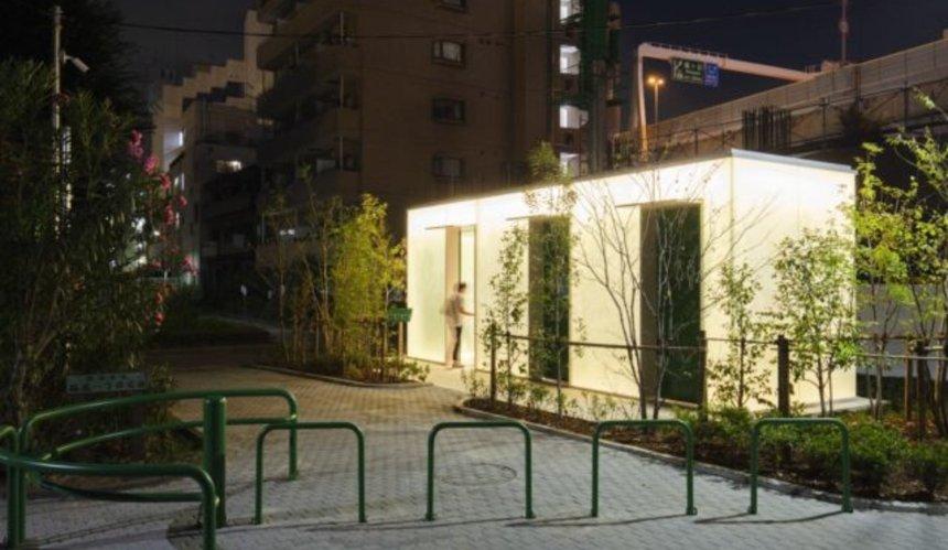 В Токио построили уникальные общественные туалеты