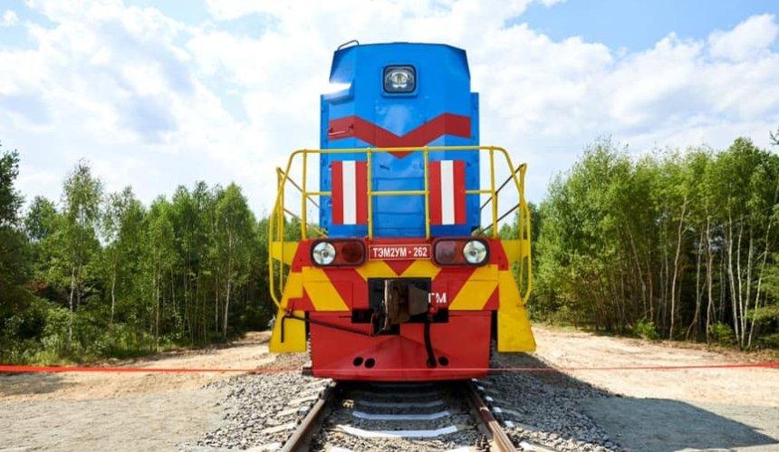 В Чернобыльскую зону запустили тестовый поезд