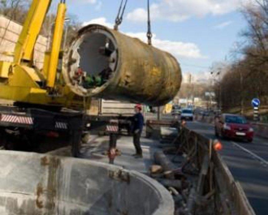 Новые канализационные коллекторы в Киеве будут работать вечно