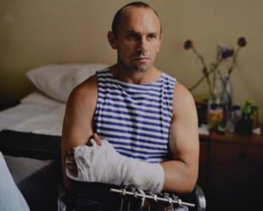 В Мыстецком Арсенале показали украинский пейзаж и раненых героев (фото)