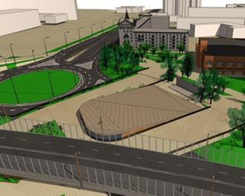 Шулявка будущего: проект пешеходной городской площади