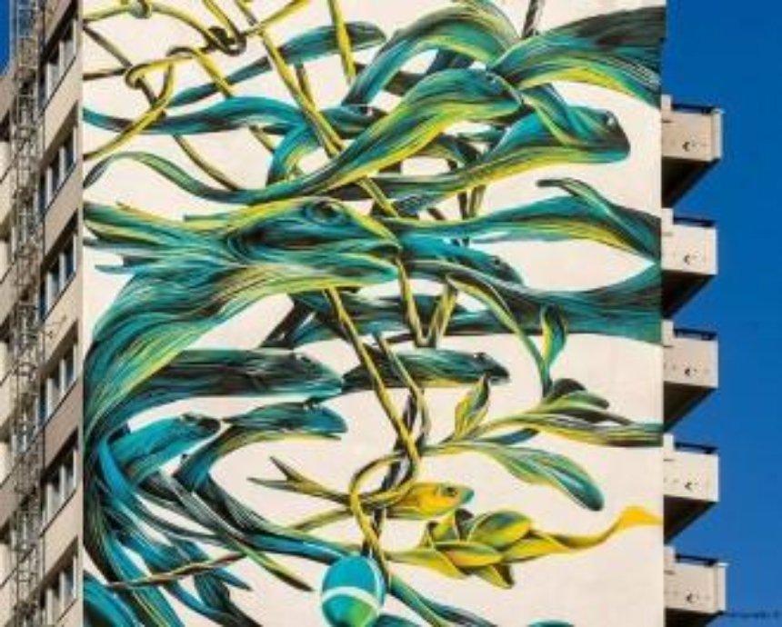 Португальский художник создаст мурал на Святошино (фото)