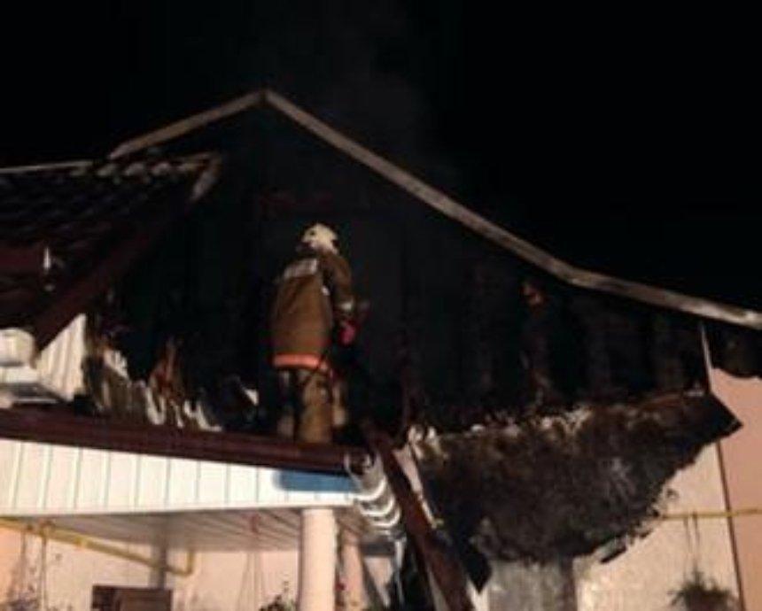 В Киеве из-за электросчетчика загорелся дом