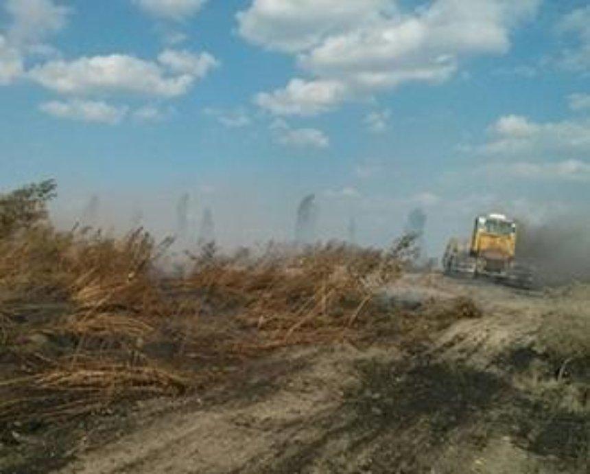 В Киевской области четвёртый день горит свалка отходов (фото)