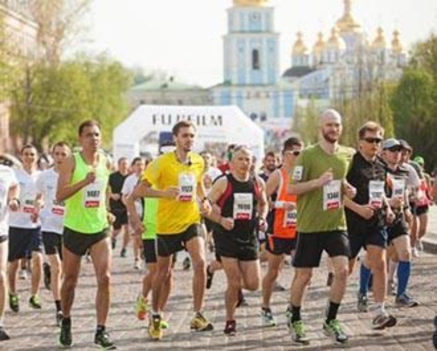 Киевский марафон впервые изменит маршрут