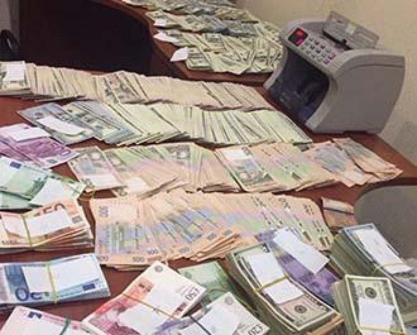 В Киеве ГПУ накрыла конвертцентр террористов (фото)