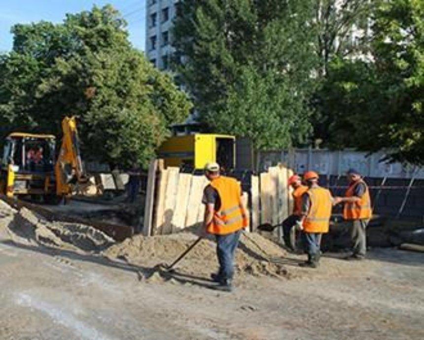 Как в Киеве объехать перекрытую дорогу на Борщаговской: версия коммунальщиков (схема)
