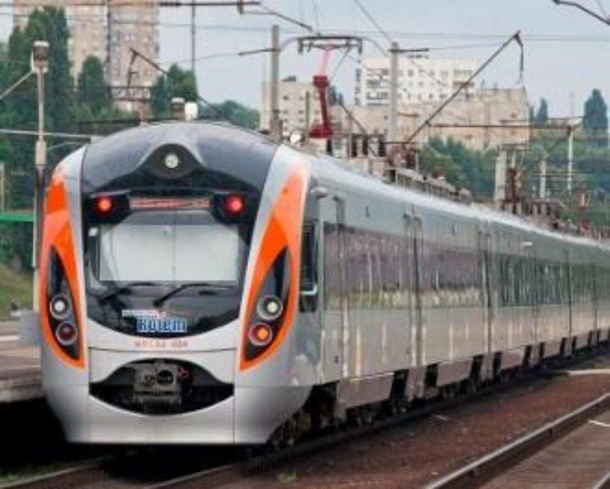 Киев и Львов соединит скоростной поезд