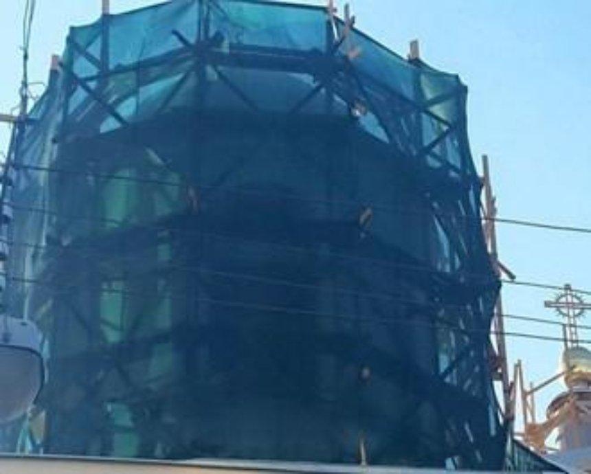 В центре Киева епископ самовольно перестраивает знаменитый костел (фото)