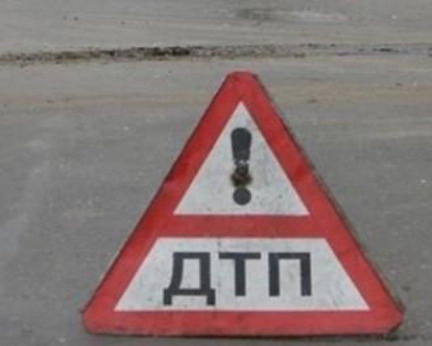 В Киеве случилось ДТП на Индустриальном мосту, Борщаговская стоит
