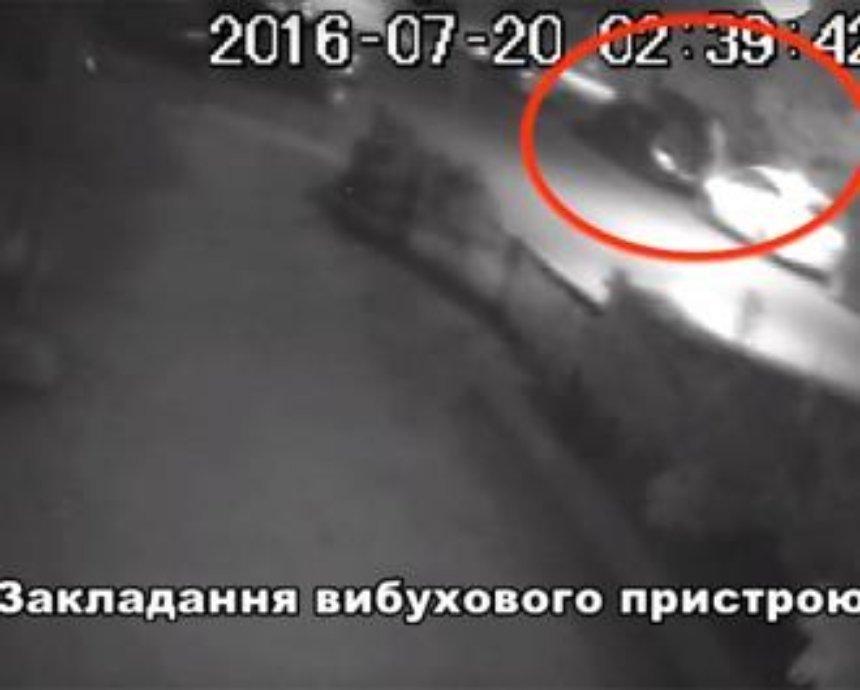 Опубликовано подробное видео закладки взрывчатки под авто, в котором погиб Шеремет