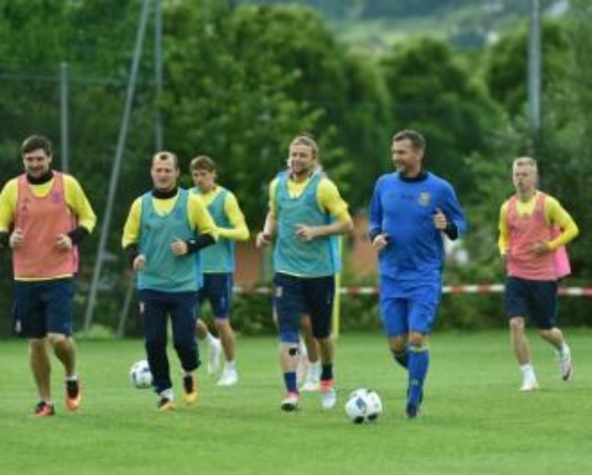 Киевлян приглашают на открытую тренировку украинской футбольной сборной