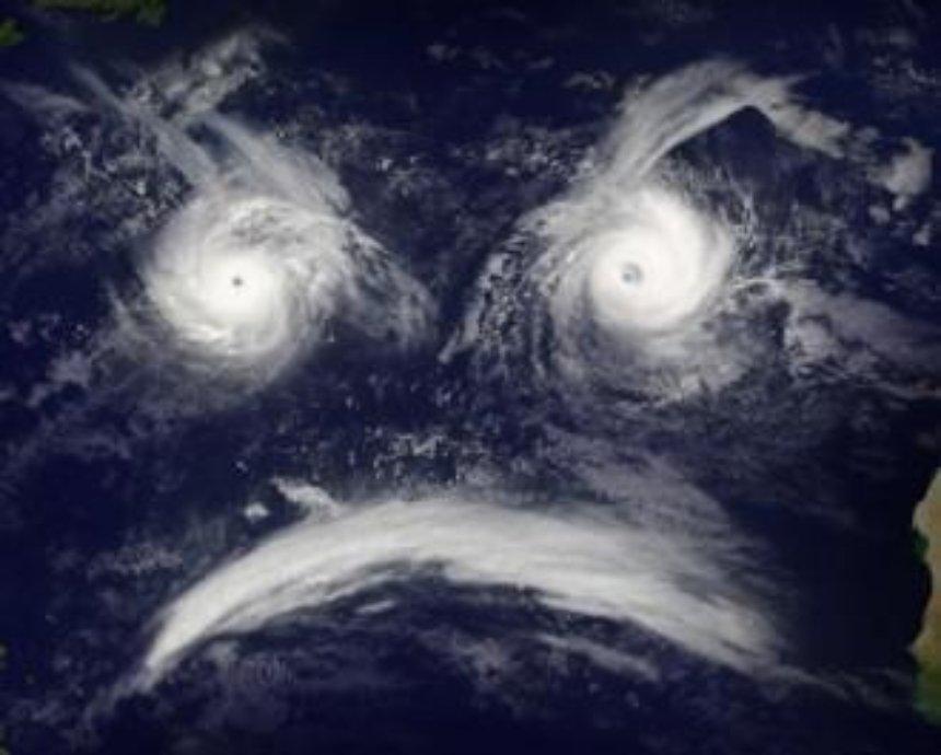 На столицу идет ураган